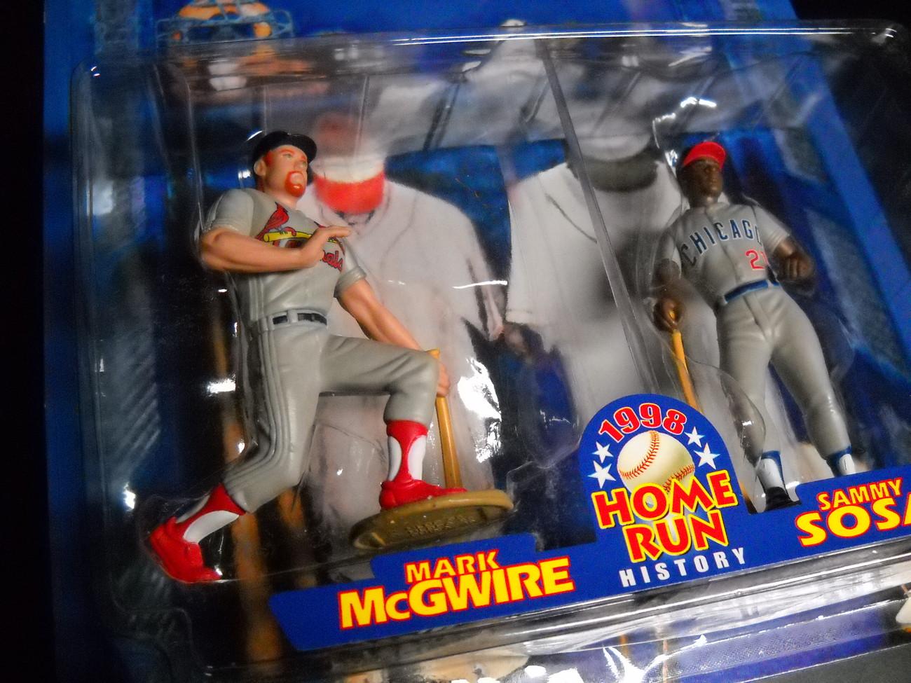 Starting Line Up 1998 Home Run History Series McGwire Sosa Baseball Sealed Card