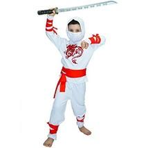 Ninja Children's Costumes 7-9Y White image 1