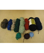 Standard Knitting Yarns Multiple Colors Lot of 11 Acrylic - $23.95