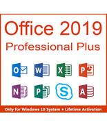 Microsoft Office 2019 Professional Plus Key & Download 32/64 Bit - $20.90