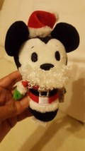 "Hallmark Itty Bittys Disney Mickey Mouse Small Plush 5"" red hat beard pr... - $14.03"