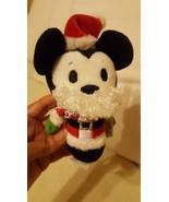 "Hallmark Itty Bittys Disney Mickey Mouse Small Plush 5"" red hat beard pr... - $14.03"
