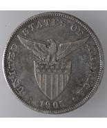 U.S Philippines 1905s, One (1) Peso Silver Coin  - $64.00