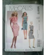 McCall's #M5972 Laura Ashley Dress 14 16 18 20 Pattern Uncut - $12.86