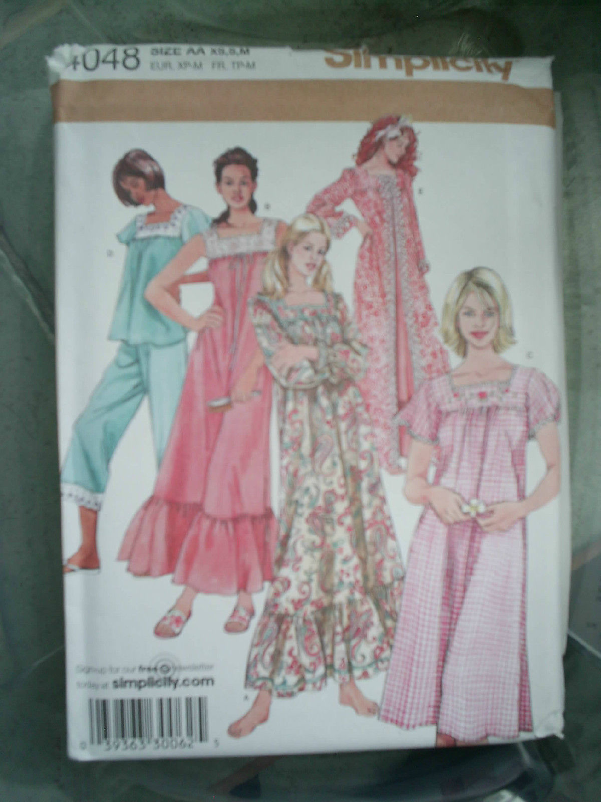 b04f89f8a4 Simplicity  4048 Nightgown Pajama Robe and 50 similar items