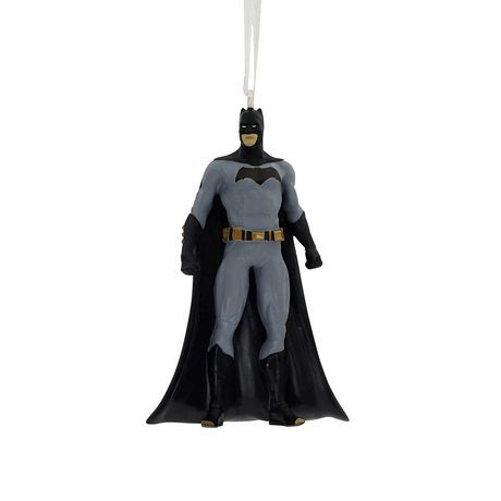 Primary image for 2017 Hallmark DC Comics Justice League Batman Christmas Tree Ornament!