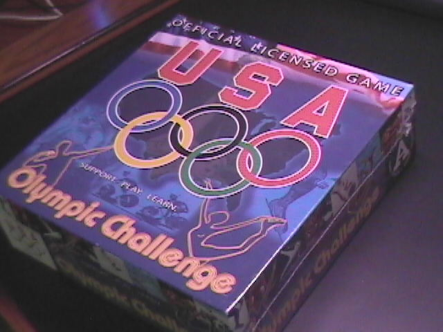 USA Olympic Challenge Trivia Game Factory Sealed Box Offically Licensed Product Altiusgames