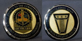 Big Deputy To Commander Snr Executive Army Sustainment Command Challenge Coin - $19.79