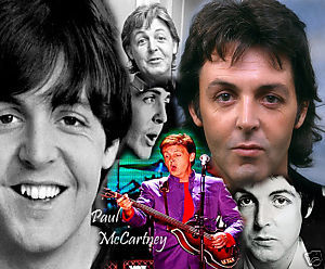 The Beatles Paul McCartney Mousepad