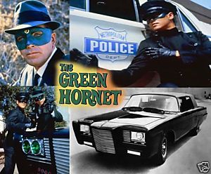 The Green Hornet Mousepad