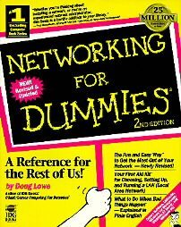 Networking for Dummies by Doug Lowe (1996, Paperback)