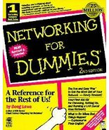 Networking for Dummies by Doug Lowe (1996, Paperback) - $7.95