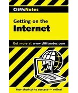 Cliffsnotes Getting on the Internet by David Crowder... - $5.95