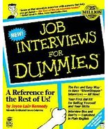 Job Interviews for Dummies by Joyce Lain Kennedy (19... - $9.45