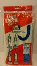 Dirt Devil Type U  3920047001 Vacuum Bags Pack of 3 GENUINE Dirt Devil NEW - $7.99