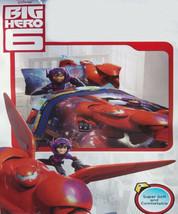 Disney Big Hero 6 Superheroes Twin Comforter Sheets 4PC Bedding Set New - $107.40