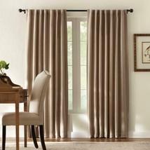 "NEW 2 Pack Room Darkening Window Panel in Tweed Taupe 50"" x 84"" - $28.50"