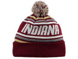 Indiana Hoosiers TOW NCAA Stryk Pom Pom Knit Winter Hat Stocking Cap Toque - $18.04