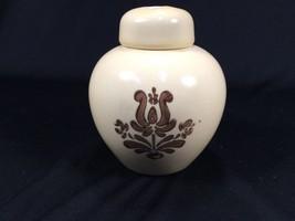 Pfaltzgraff Village Pattern Potpourri Jar With Lid - $16.99