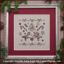 Christmas Cookies cross stitch chart Filigram - $7.20