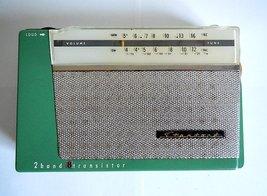 Vintage STANDARD 1960s 8 Transistor 2 Band SR-H107 Radio, Japan  - $68.00