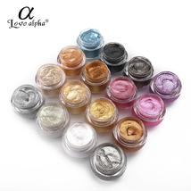 LOVE ALPHA 3D Glitter Eyeshaow Gel Metallic Powder Pigment Makeup 5 Opti... - $4.66