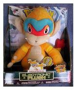 Pokemon Diamond and Pearl Plush Talking MONFERNO NeW in Box 11 Inches Tall - $28.99