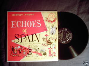 George Feyer piano Vox LP Echoes of Spain Cafe Carlyle