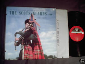 Regimental Band Massed Pipers Scots Guards LP bagpipes