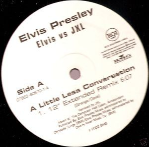"Elvis Presley A Little Less Conversation US 12"" promo"