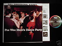 Pee Wee Hunt Dance Party jazz Capitol LP cheesecake Oh!
