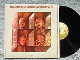 BACHMAN TURNER OVERDRIVE II LP 1973 BraveBelt VG+vinyl - $2.99