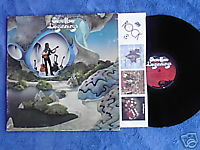 STEVE HOWE Beginnings LP YES solo 1975 Bill Bruford