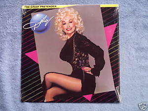 DOLLY PARTON The Great Pretender 1984 Sealed LP