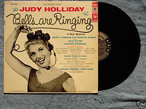 Bells Are Ringing 1956 LP Judy Holliday Columbia 6-eye