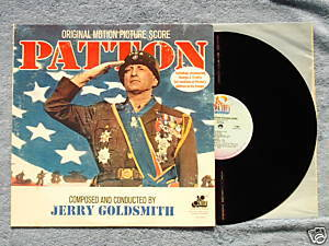 PATTON '70 LP Jerry Goldsmith George C. Scott uncensord