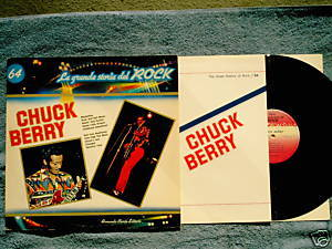 CHUCK BERRY La grande storia del ROCK LP Italian press