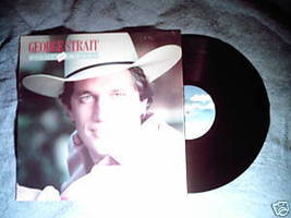 GEORGE STRAIT Right or Wrong 1983 LP You Look So Good - $4.87