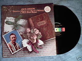 JACK GREENE There's a Whole Lot About a Woman 1971 LP - $9.49