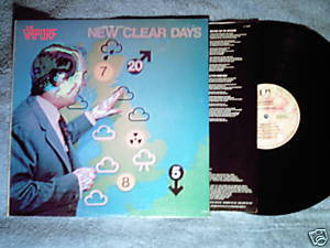 THE VAPORS New Clear Days LP 1980 Turning Japanese