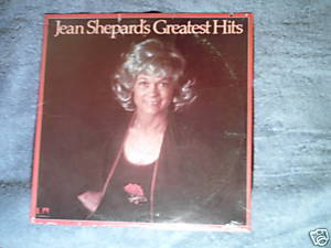 JEAN SHEPARD's Greatest Hits 1976 Sealed LP country