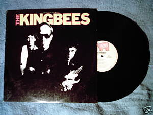 THE KINGBEES s.t. 1980 LP Jamie James rockabilly guitar