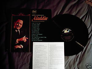 Aladdin Dot LP Lawrence Welk inspirational spoken word