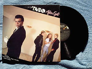 TACO After Eight 1982 LP Puttin' on the Ritz 80s pop