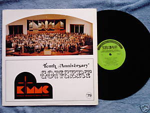 Kansas Mennonite Men's Choir 10th Anniversary 1979 LP