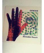 Genesis Phil Collins invisible touch album signed - $229.00