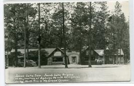 Jacob Lake Inn Arizona RPPC Real Photo 1950c postcard - $7.38