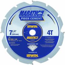 """Irwin Marathon 4935473 7-1/4"""" 4T Marathon Fiber Cement Circular Saw Blade - $32.71"""