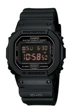 Casio Men's DW5600MS-1CR G-Force Military Concept Black Digital Watch - $97.46