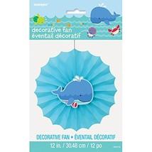 "12"" Under the Sea Paper Fan Decoration - $9.87"